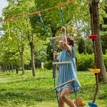 ZELUS Ninja Line Backyard Obstacle Training Course 40′