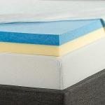 Zinus 4 Inch Gel Memory Foam Mattress Topper, Twin